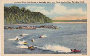 Kentucky Outboard Motor Boat Races On Kentucky Lake Curteich