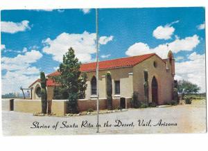 Shrine of Santa Rita in the Desert, Vail Arizona Catholic Church