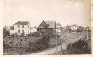 RPPC Nob Hill RIO VISTA, CA Solano County c1910s Thos. A Spivey Vintage Postcard