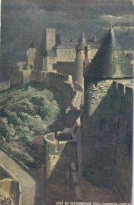 Cite De Carcassonne tour de L'Inquisition at Chateau , France , 00-10s ; TUCK