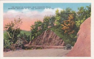 South Carolina Greenville The Mountain Highway Near Contestee Falls Between B...
