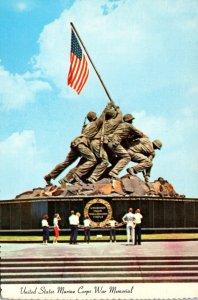 Washington D C United States Marine Corps War Memorial Iwo Jima Statue