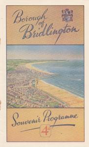 Bridlington The Deep River Boys Yorkshire Live Theatre Programme