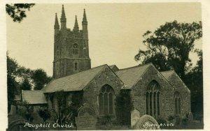 Thorn. Photo Postcard 'Poughill Church'