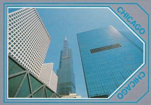 Illinois Chicago Silver Line The Sears Tower
