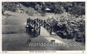 Penang Malaysia, Malaya Bridge & Botanical Gardens Printed Photo Bridge & Bot...