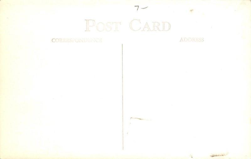 Mapleon Minnesota~Main Street~Real Photo Postcard 1940s