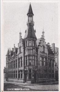 MENIN (West Flanders), Belgium, 1910-1920s; La Poste