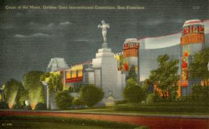 CA - San Francisco, 1939-40. Golden Gate International Exposition. Court of t...