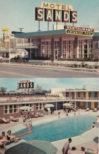 TEXARKANA , Texas , 1950-60s ; The Sands Motel , Swimming Pool