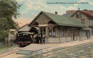 SUMMIT HILL , Pa, 1900-10s ; Switch Back Railroad