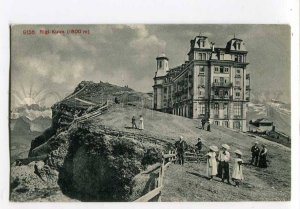 3035011 Switzerland Rigi-Kulm mountain Vintage PC