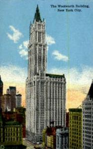 The Woolworth Building New York City NY Unused