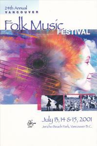 Vancouver Folk Music Festival 2001 Jericho Beach Park