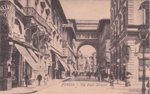FIRENZE (Florence) , Italy , 00-10s ; Via degli Strozzi