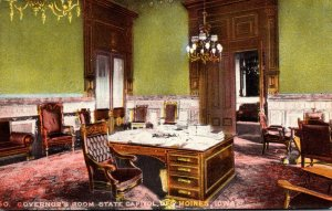Iowa Des Moines State Capitol Governor's Room