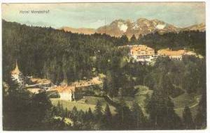 Aerial View, Hotel Mendelhof, Austria, 00-10s