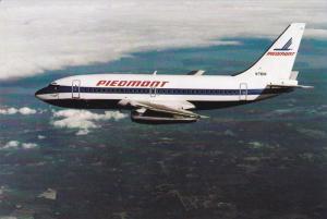 PIEDMONT Airlines Boeing 737-200 Airplane , 60-80s