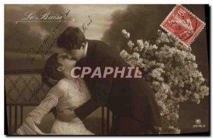 Old Postcard Fantaisie kiss