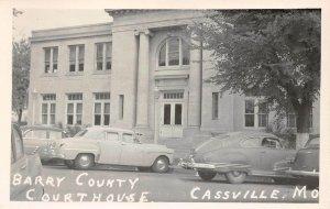 LPSS54 Cassville Missouri Barry County Court House Postcard RPPC
