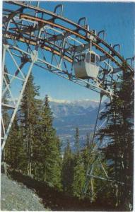 Banff Sulphur Mountain Gondola Lift, Banff National Park Alberta, Canada