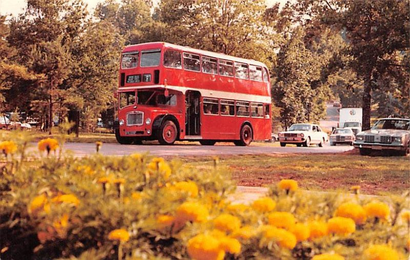 Visitors and Partners tour Heritage USA Double decker buses United Kingdom, G...