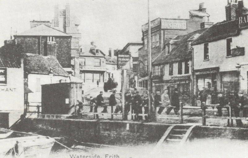 Reproduction c1904 Postcard, Waterside, Erith, Bexley, London, Kent 92T
