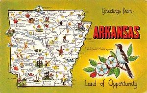 Maps Arkansas USA Unused