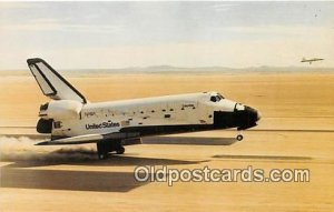 Columbia Returns to Earth Space NASA's Dryden Flight Research Facility Unused