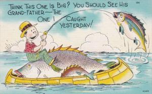 Fishing Humour Think This One Is Big