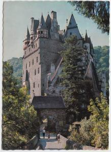 Wierschem, Germany, BURG ELTZ, Eltz Castle, unused Postcard