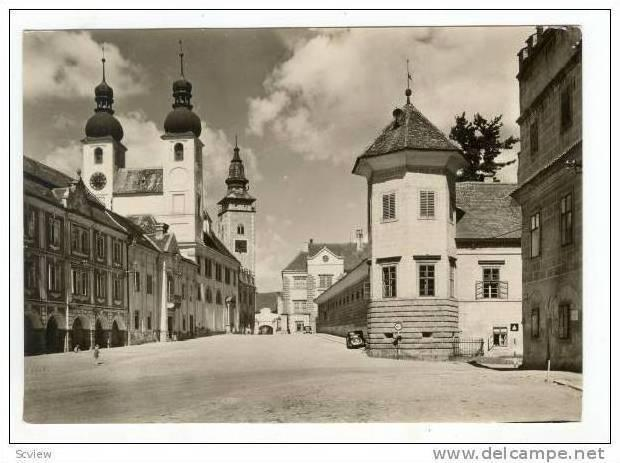 TELC, Czech Republic, 40s  Street view
