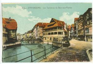 Strasbourg, Les Tanneries du Bain aux-Plantes, early 1900s