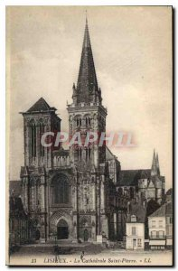Old Postcard Lisieux Cathedrale Saint Pierre