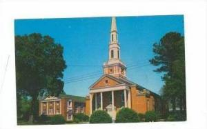 Church, Whiteville, North Carolina, 1940-60s