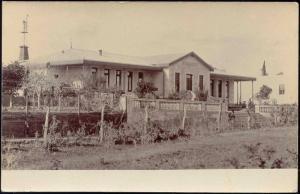 uruguay, FRAY BENTOS, Unknown Building (1910s) RPPC