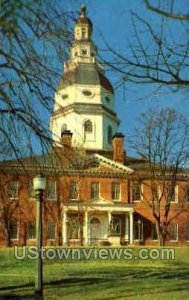 State House in Annapolis, Maryland