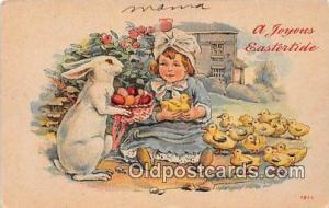 Postcard Post Card Joyous Eastertide