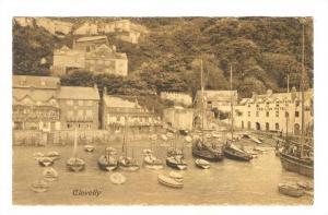 Clovelly,  North Devon , England , 00-10s ; Boat moorings