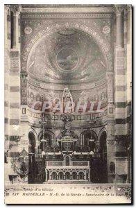 Postcard Old Marseille N D of the Guard Sanctuary Basilica