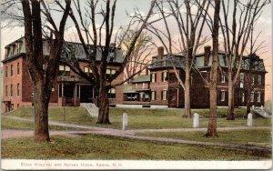 Keene New Hampshire~Elliot Hospital & Nurses Home~Paths Thru Trees~1905