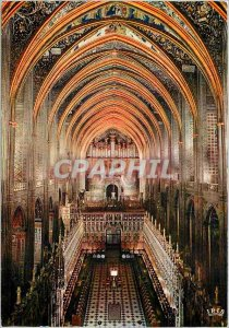 Modern Postcard Basilica Sainte Cecile Albi