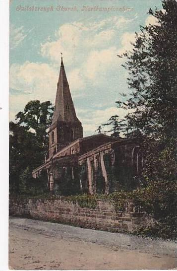 Guilsborough ,Daventry district, Northamptonshire in England. PU-1912 Church