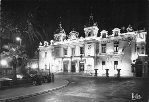 France La Cote d'Azur Monte Carlo la nuit Le Casino