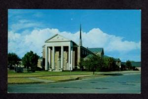 TX University Pk Methodist Church DALLAS TEXAS Postcard