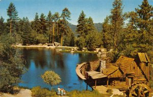 CEDAR LAKE, CA Frank Chevrolet Co. Ad 1959 Vintage Postcard