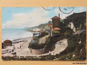 c1909 - View from Shelter - Ventnor