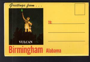 Greetings From Birmingham,AL Souvenir Folder