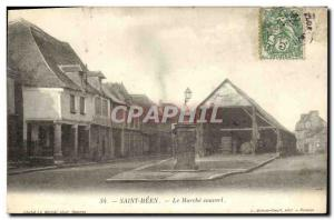 Old Postcard St Meen Le Marche covered