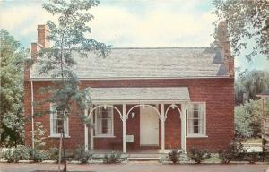 Cochocton OH~Roscoe Village~Tollkeeper's House~Arches on Porch~1950~Postcard